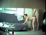 Whorey wifey caught pleasuring her hubby's friend