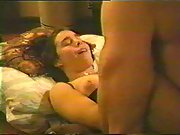 Sultry young lovers enjoying sex making amateur sex-tape video