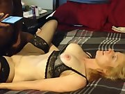 Dark-hued dick poke slutwife theresa