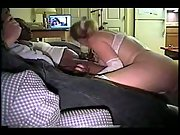 Hotwife busty milf in white lingerie porking black brothers humungous weenies