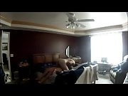 Hidden camera setup in our bedroom recording me porking my wife