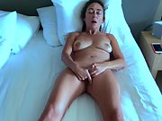 Super-naughty arab wife pummels herself with so much lust