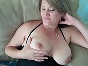 Jolene flashing her beautiful pussy and tits