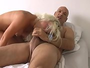 Tattooed scorching wife well fucked by stranger after sucking dick