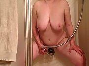 Marierocks 56+ loves masturbating in the shower