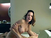 Mature hotwife cheating does anal for the first time in front of husband