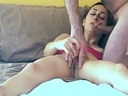Cheating films his arab wife ejaculating for strangers man-meat