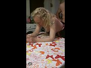 Libby fucked over kitchen table